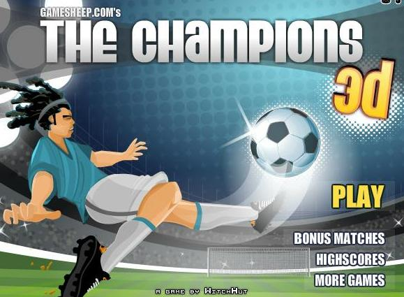 play the game the champions 3d free online